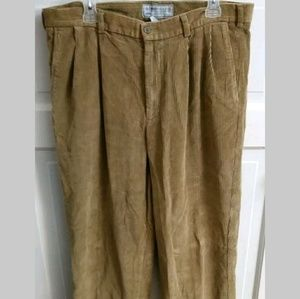 Old Navy Camel Brown Corduroy Pants Size 36X32